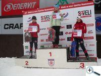 Kateřina Ostrejšová (2.místo) a Vendula Ostrejšová (3.místo) - HNKN Jablonec